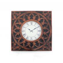 "22.75"" x 22.75"" x 2"" Bronze, Vintage, Metal - Wall Clock"