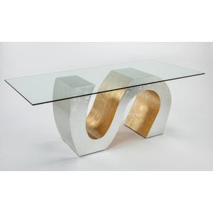 """Artmax - Dining Table Base Only for 8 Base: 54x20x30"""""""