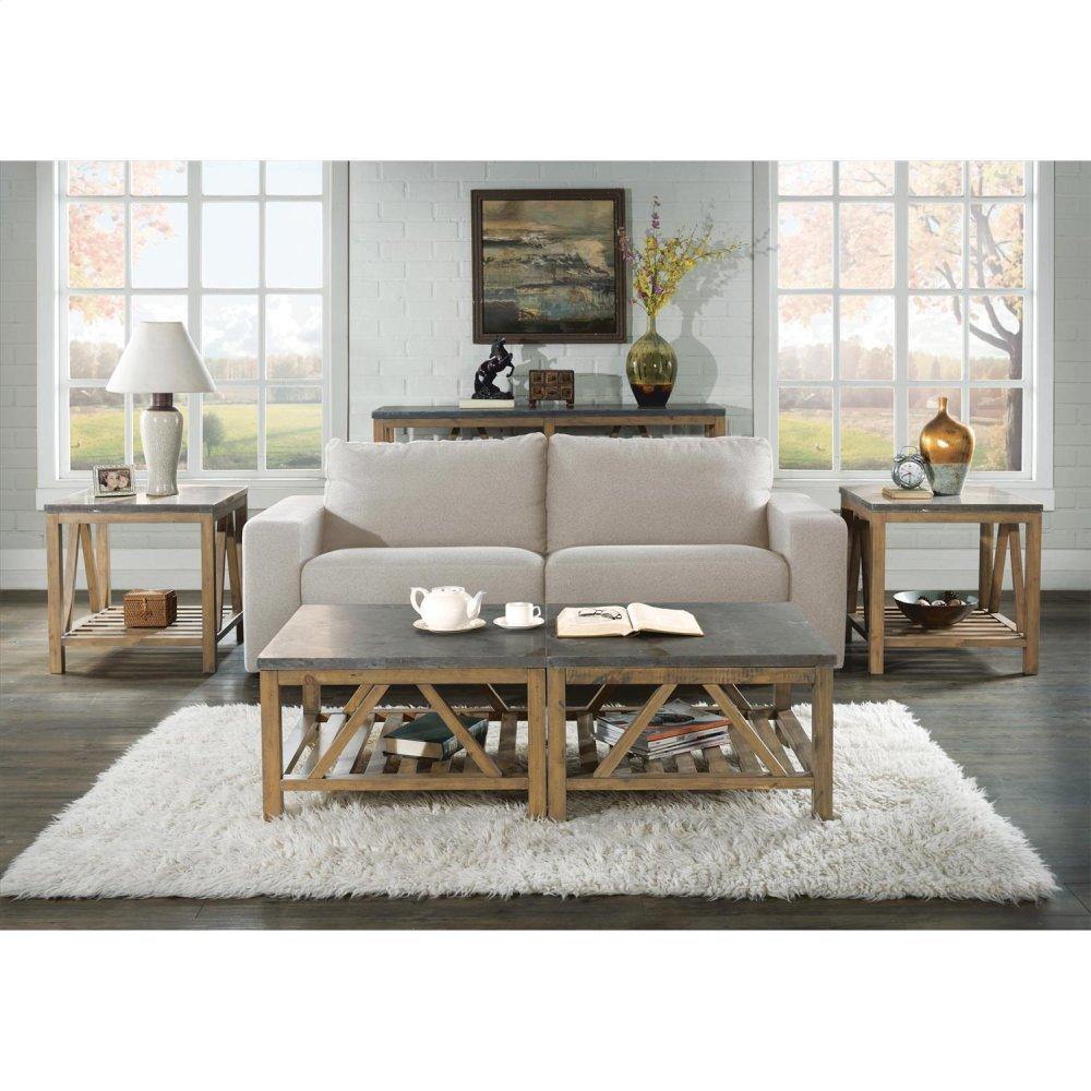 See Details - Weatherford - Bunching Coffee Table Top - Bluestone Finish