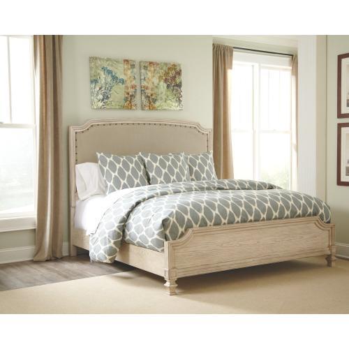 Demarlos Queen Upholstered Panel Bed