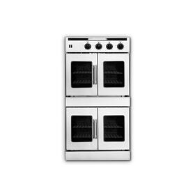 "30"" Legacy Hybrid French Door Double Deck Wall Oven - Gas On Top / Electric On Bottom"