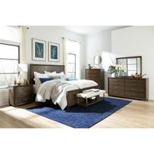 Monterey - California King Panel Bed Rails - Mink Finish