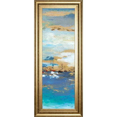 """Product Image - """"Sea Mystery Panel II"""" By Patricia Pinto Framed Print Wall Art"""