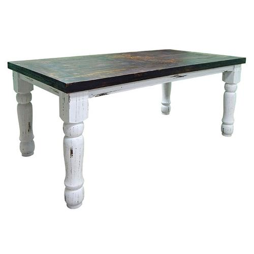 White 6'dining Plain Table