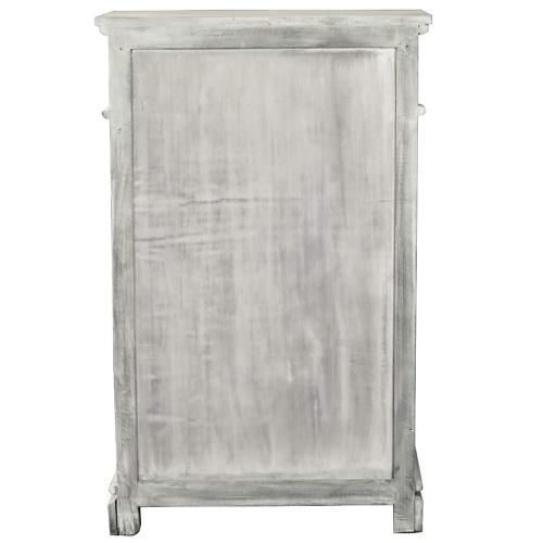 Shutter Cabinet - Distressed Gray