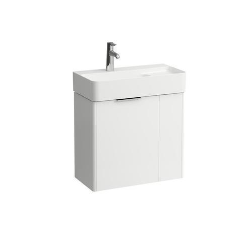 Traffic Grey Vanity unit, 2 doors, matching washbasin 815285