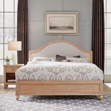 5170-6020 Cambridge White King Bed and Nightstand