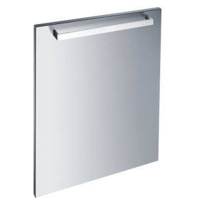 MieleGFVi 609/72-1 - Int. front panel: W x H, 24 x 28 in Clean Touch Steel™ with handle in Classic Design for integrated dishwashers.