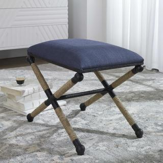 See Details - Firth Small Bench, Navy