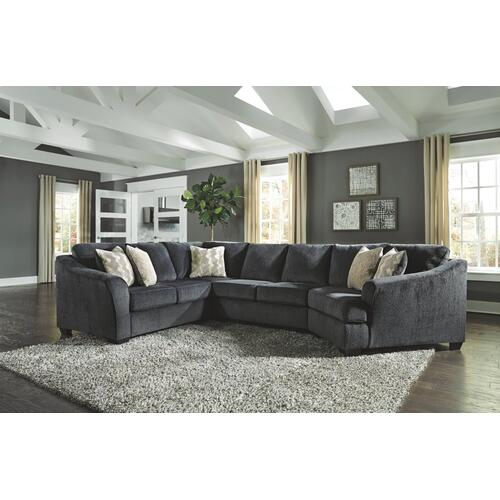 Signature Design By Ashley - Eltmann 3-piece Sectional With Cuddler