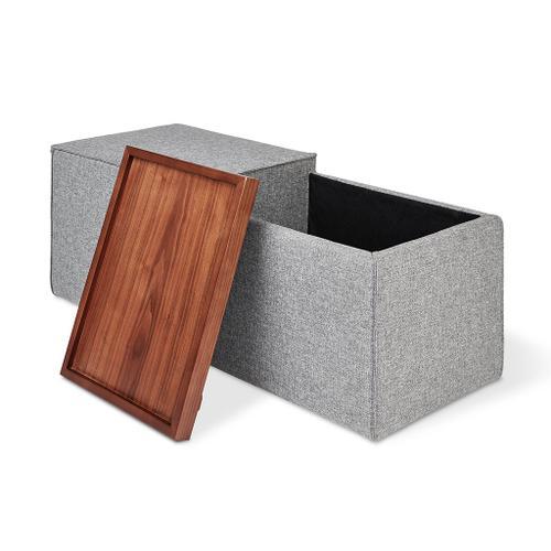 Product Image - Mix Modular Storage Box Vintage Mineral / Blonde Ash