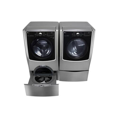 6.2 Total Capacity LG TWINWash™ Bundle with LG SideKick™ and Electric Dryer