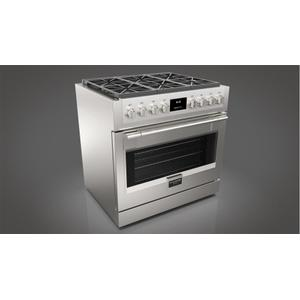 "Fulgor Milano36"" All Gas Pro Range - Stainless Steel"