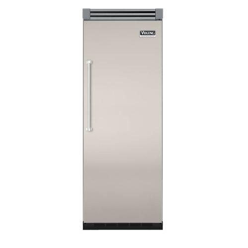 """Viking - Oyster Gray 30"""" Quiet Cool™ All Refrigerator - VIRB Tru-Flush™ (Right Hinge Door)"""