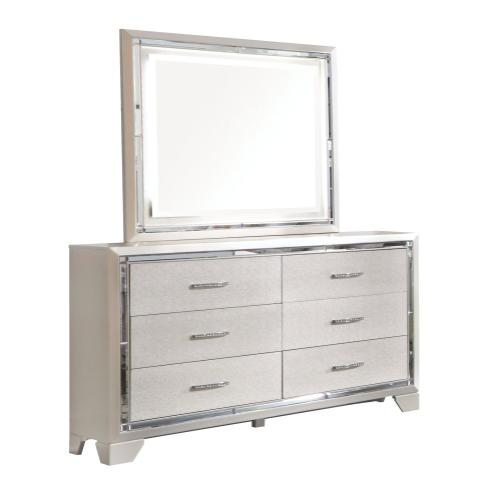 Lonnix Dresser and Mirror