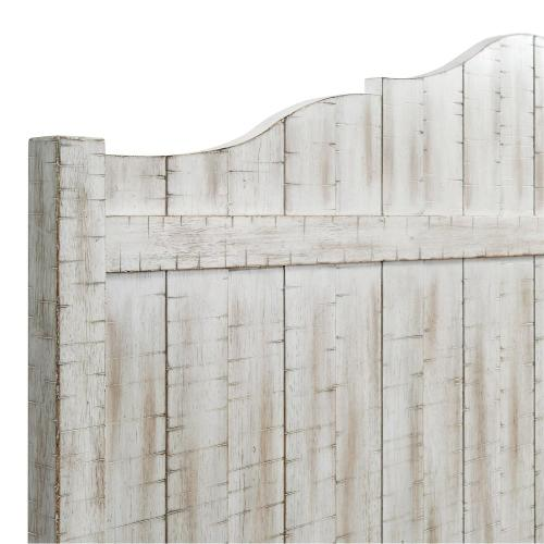 Madison - Full/queen Panel Headboard - Rustic White Finish