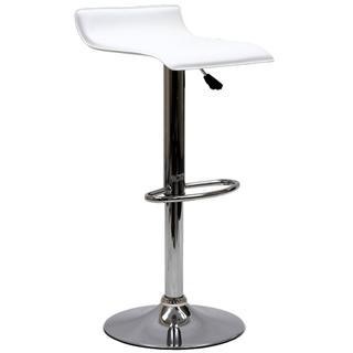 Gloria Bar Stool in White