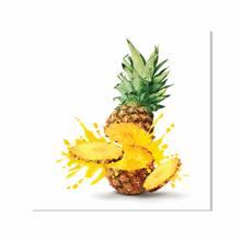 Pineapple Splash Fine Wall Art
