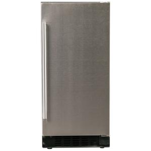 "Azure Home ProductsRefrigerator 1.0 - 15"" Solid Stainless Door"