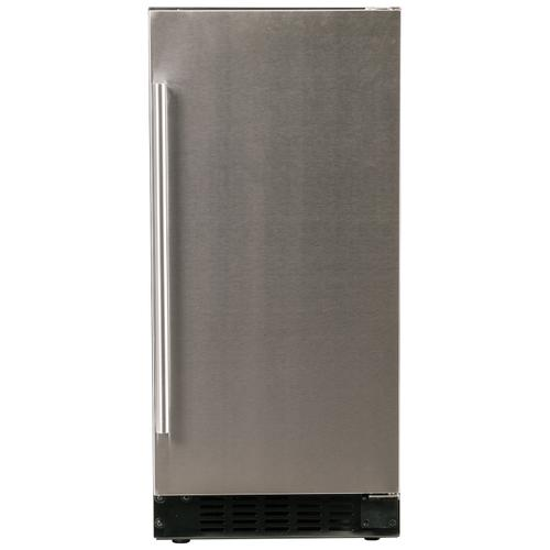 "Refrigerator 1.0 - 15"" Solid Stainless Door"