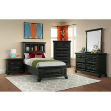 Calloway Black Youth Bedroom
