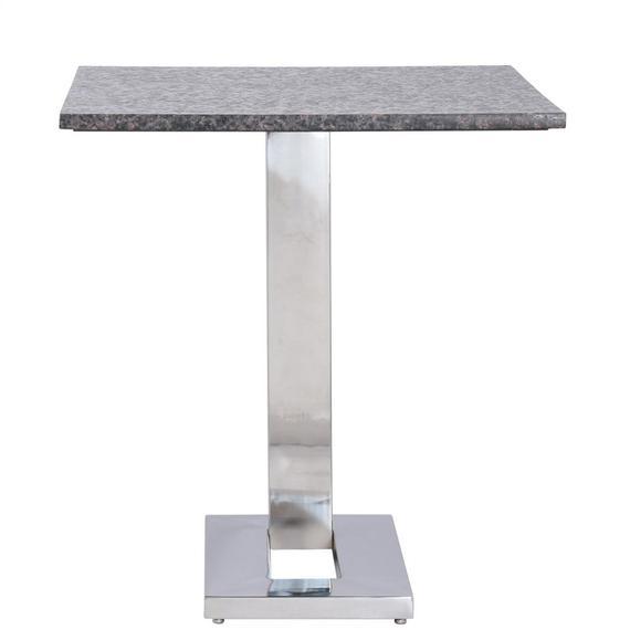 Riverside - Square Side Table Base - Polished Chrome Finish