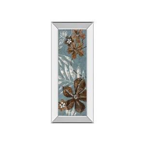 Denim Garden I By Maria Donovan (mirrored Frame)