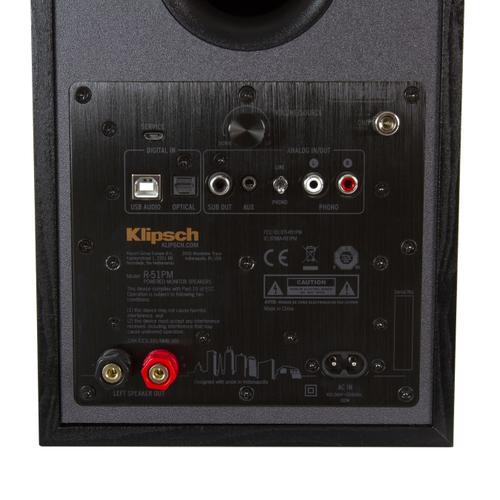 Klipsch - R-51PM Powered Speakers (Pair)
