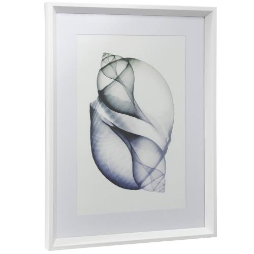 Style Craft - TRANSLUCENCE I  18in w X 24in ht  Framed Print Under Glass with Matte