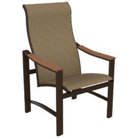 Brazo Sling High Back Dining Chair