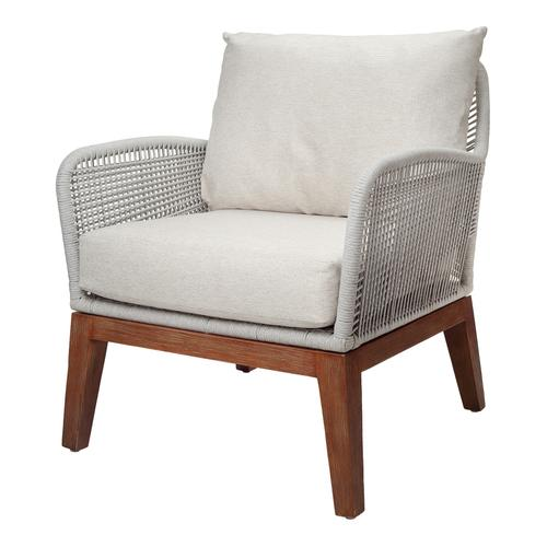 Product Image - Matisse Rope Accent Arm Chair, Gray
