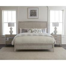 Lilly - Queen/king Panel Bed Rails - Champagne Finish