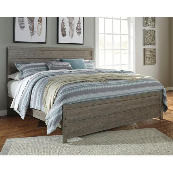 Culverbach King Panel Bed