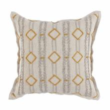 See Details - Bruno Gray Turmeric Gold Pillow