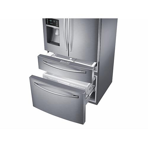 28 cu. ft. 4-Door French Door Refrigerator in Stainless Steel