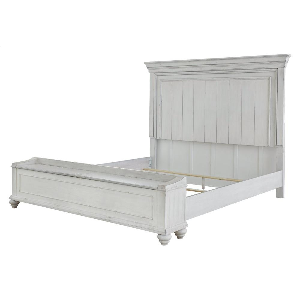 Kanwyn Queen Panel Bed With Storage Bench