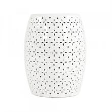 See Details - Lovell Garden Stool White