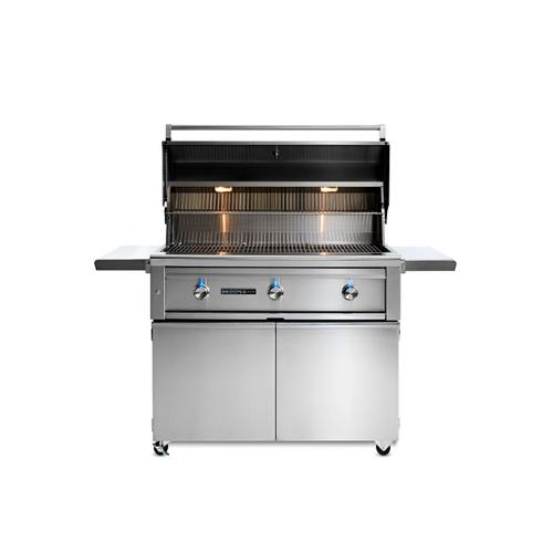 "42"" Sedona by Lynx Freestanding Grill with 2 Stainless Steel Burners and ProSear Burner, LP"