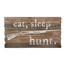 Winchester Eat, Sleep, Hunt Wall Sign