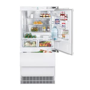 """Liebherr36"""" Combined refrigerator-freezer with BioFresh and NoFrost for integrated use"""