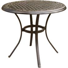 "Traditions 32"" Round Cast Top Bistro Table"