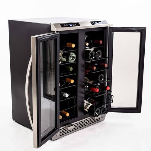 38 Bottle Dual-Zone Wine Cooler