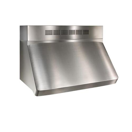 """WP29 - 36"""" Stainless Steel Pro-Style Range Hood with 300 to 1650 Max CFM internal/external blower options"""