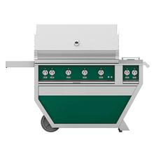 "42"" Hestan Outdoor Deluxe Grill with Double Side Burner - G_BR__CX_ Series - Grove"