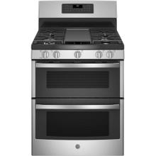 "Brand New - GE® 30"" Free-Standing Gas Double Oven Convection Range"