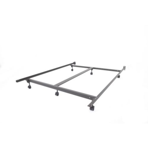 Extreme M66R King Bed Frame with Rollers