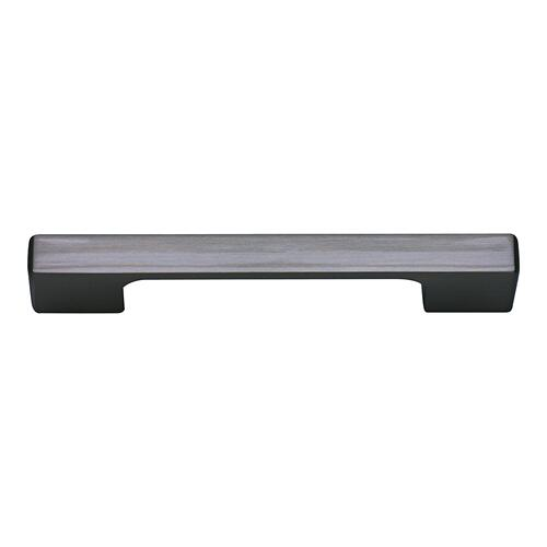 Thin Square Pull 3 3/4 Inch (c-c) - Matte Black