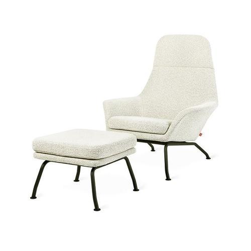 Product Image - Tallinn Chair & Ottoman New Copenhagen Fossil / Black