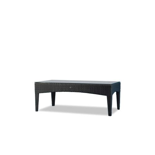 New Miami Lakes Coffee Table w/Clear Glass