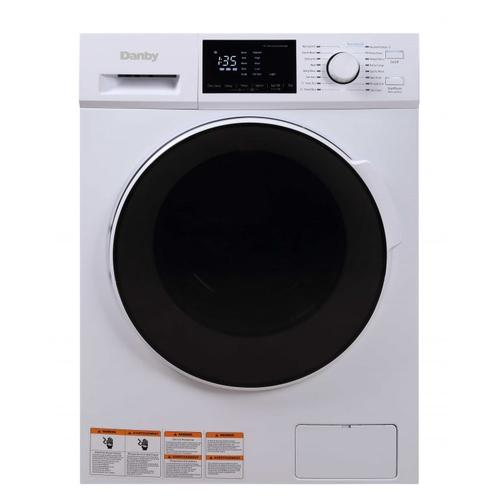 Danby - Danby 2.7 cu. ft. All-In-One Ventless Washer Dryer Combo